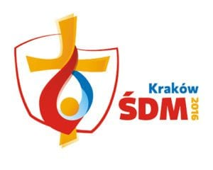 "Here is the official logo for World Youth Day 2016. The logo and prayer focus on the theme chosen by Pope Francis from the Gospel of Matthew: ""Blessed are the merciful, for they will receive mercy."" CNS Photo Courtesy of World Youth Day Krakow 2016"